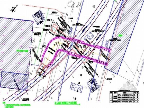 [江苏]矿山法隧道6.8×4.6m竖井设计图(井深24.4m)