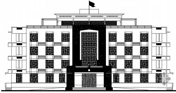[福建石狮市]某派出所四层办公楼建筑施工图