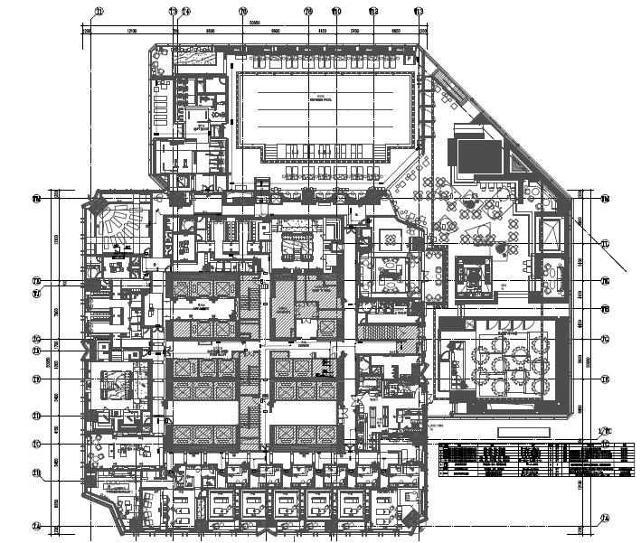 深圳平安金融中心酒店部分精装机电施工图
