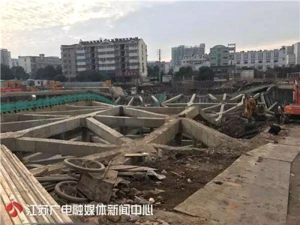 楼房监控施组资料下载-施工技术   南京一在建工地发生大面积基坑塌陷,事故预防及应急