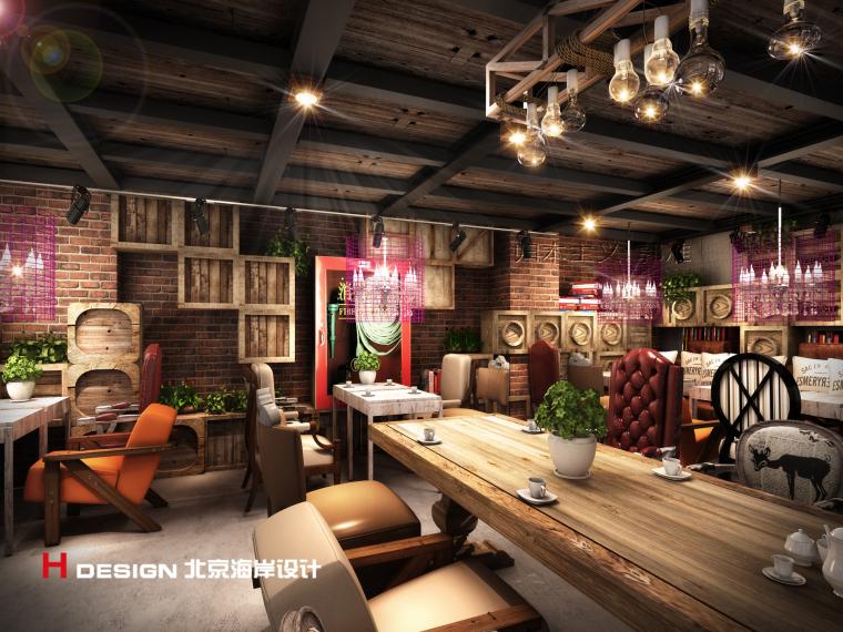 归本主义设计作品——上海忆咖啡设计方案_4