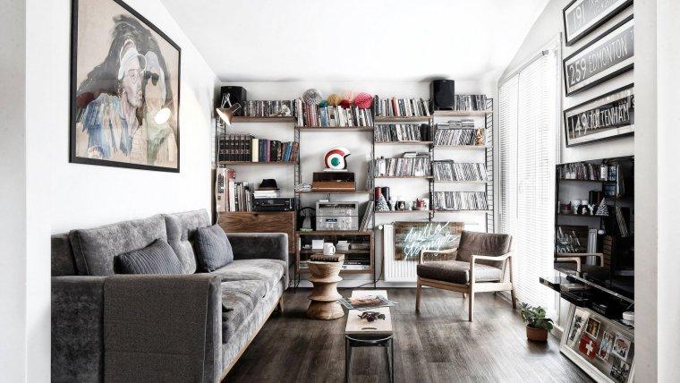 伊斯坦布尔:这间只有41平米的公寓却带来无限的生活美感_1