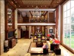 大气中式别墅客厅3D模型下载