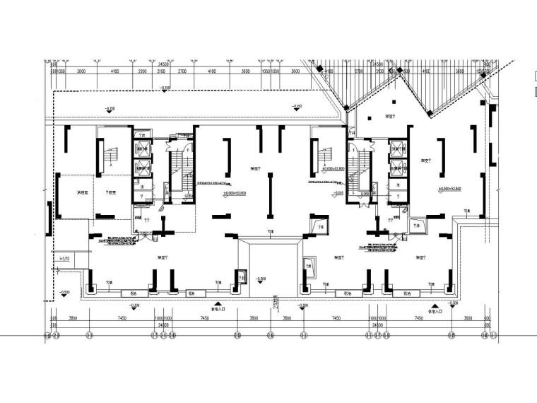 [福建]高层住宅楼智能化图纸