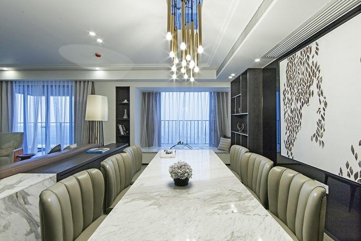 现代简约风格-1 (1)客厅装修设计,现代简第1张图片