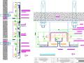 [廣東]地下交通樞紐車站地鐵工程照明通風空調給排水設計及裝修設計圖紙215張CAD