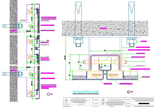[广东]地下交通枢纽车站地铁工程照明通风空调给排水设计及装修设计图纸215张CAD