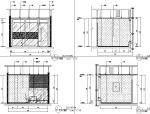 【重庆】现代风格办公空间设计施工图(附效果图+材料表)