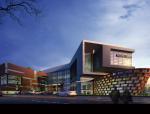 [广西]来宾十大文化场馆规划建筑设计