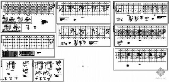 某框架复式住宅结构图