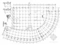 16層框架核心筒半弧形結構施工圖(構架層、管樁、含建施)