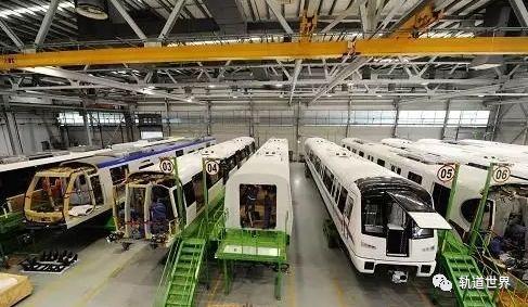 两轨道交通装备基地上榜:2018国家新型工业化产业示范基地五星级
