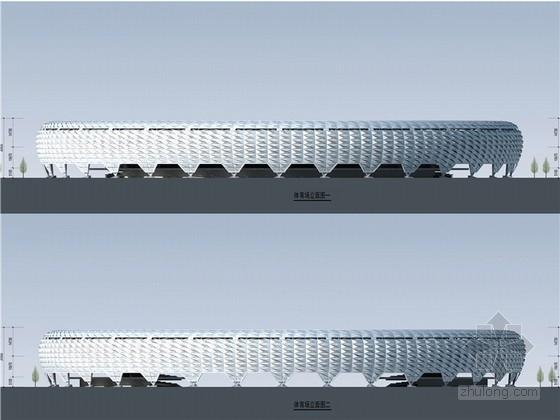 [甘肃]大型体育馆建筑项目设计方案文本