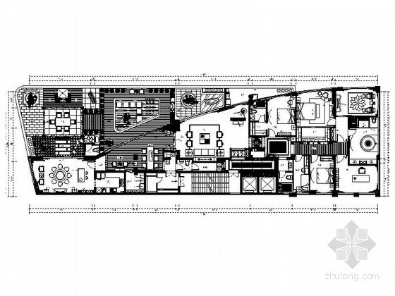 [福安]现代新中式大户型室内装修图(含效果)