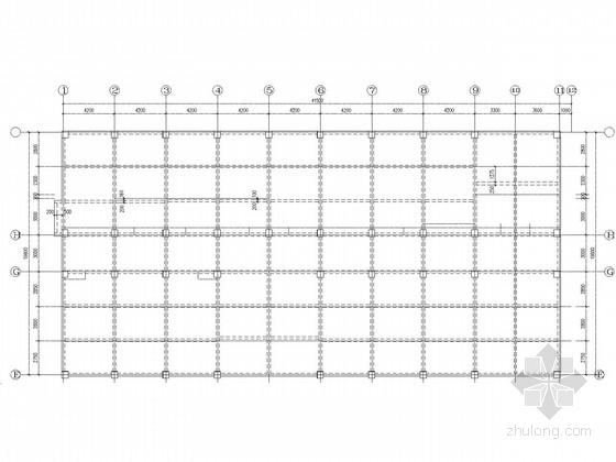 8度区中学综合楼框架结构施工图