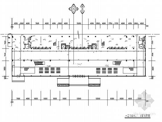 [安徽]县人民医院现代办公门诊楼室内装修施工图