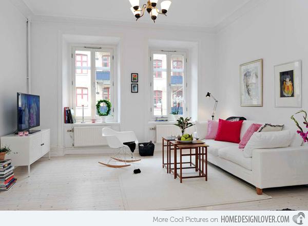 20个时尚的客厅装修设计案例_3
