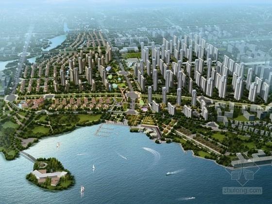 [河南]滨水宜居可持续生态住宅区规划设计方案文本