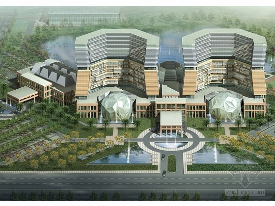 [天津]滨海新区16层五星级度假酒店设计方案文本
