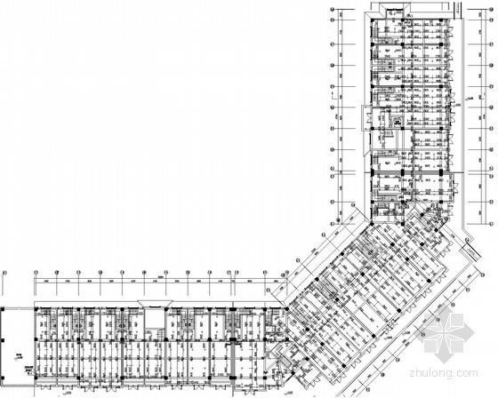 [安徽]大型建筑群高档别墅区商住楼给排水消防施工图