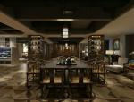 深色古典中式会客厅3D模型