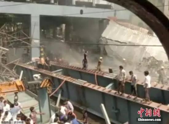 一在建高架桥倒塌,致18人死亡,事故原因还在调查_7