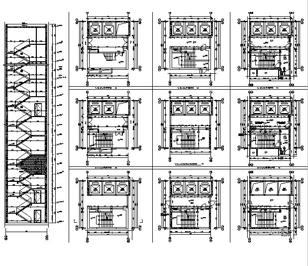 [广东]高层养生商业广场建筑施工图(含全专业图纸)_11