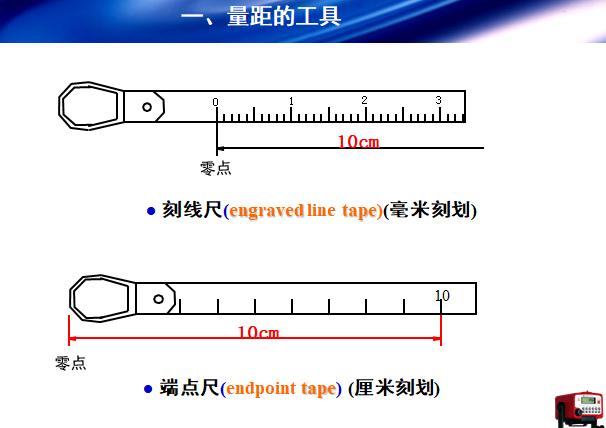 工程测量:距离测量讲义PPT