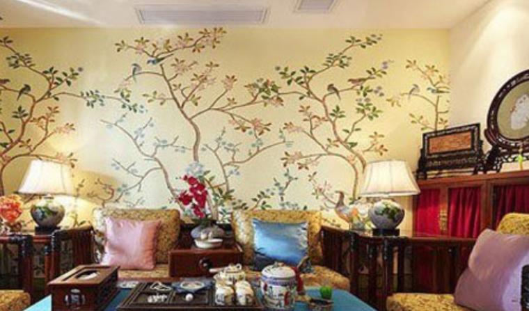 纯中式打造优雅别致住宅装修实景图