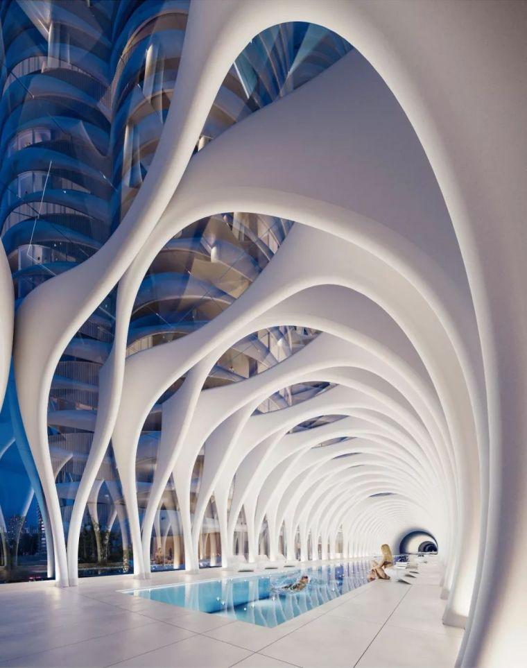 一栋住宅十年设计,这可能是世界上最梦幻的公寓楼_19