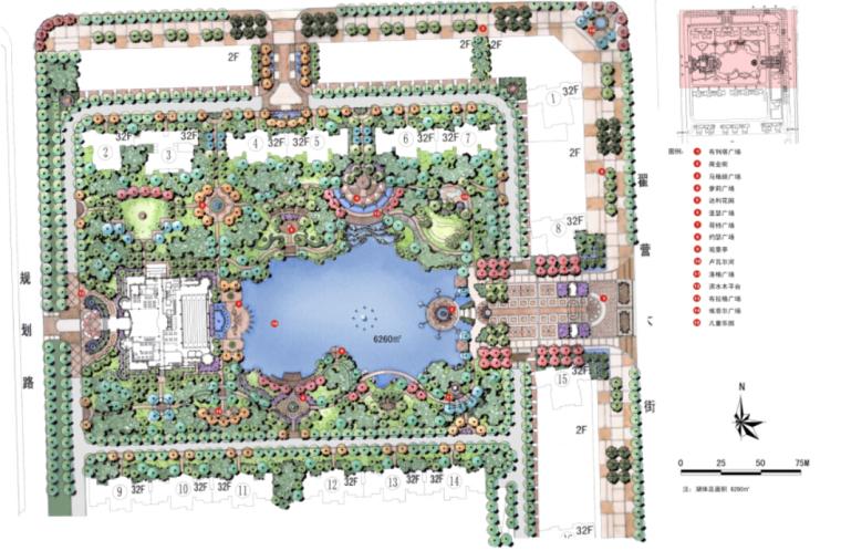 [合集]4套居住区景观设计方案(著名设计公司)