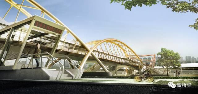 罩棚是设计败笔?来看看里约热内卢交通站的人行天桥