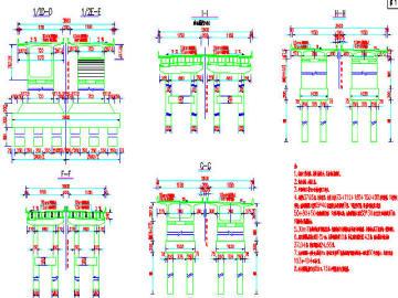 [湖北]三向预应力现浇73+112+150+150+90m连续箱梁桥设计图175张