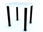 简单凳子3D模型下载