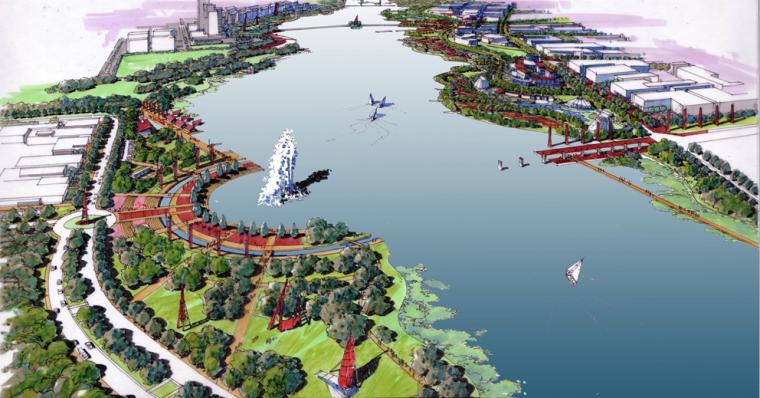 [江西]滨湖总体方案设计框架