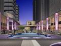 [江苏]滨江商业办公风情街特色广场景观设计方案