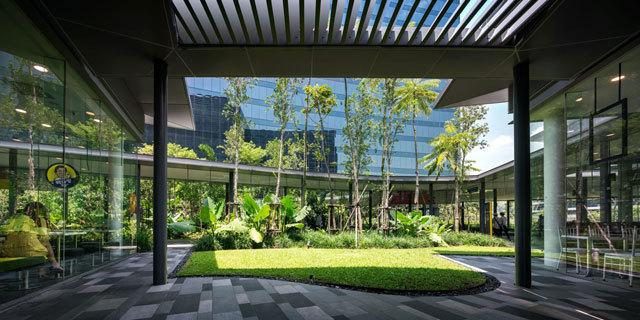 17-新加坡Comtech商业园区景观设计第17张图片