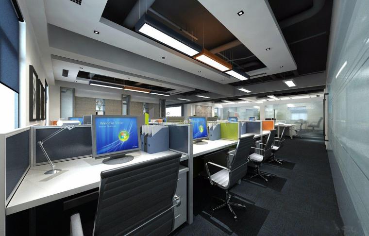 济南新中式风格的办公空间-7