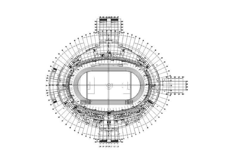 邵阳体育中心体育场亿客隆彩票平台结构亿客隆彩票首页图(钢屋盖、看台及基础)