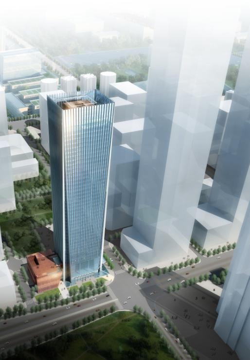 超高层塔式办公楼建筑投标文件方案文本(知名设计院)