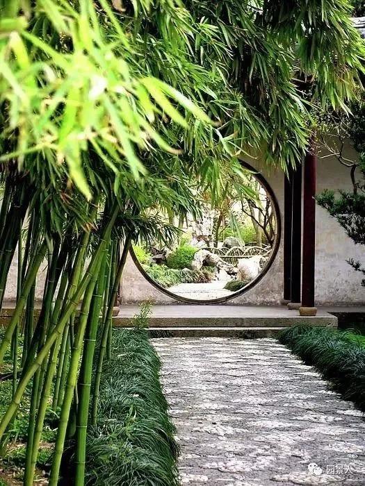 """月洞门 · 在中式园林中赏""""月"""""""