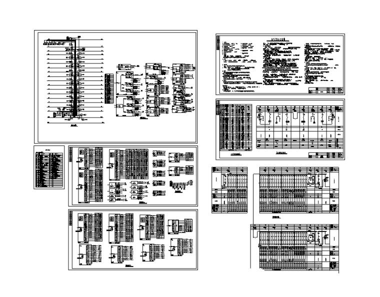 医院病房123个项目电气强弱电施工图
