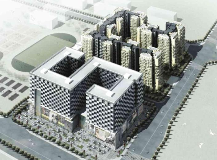 [四川]成都某居住区建筑设计方案文本