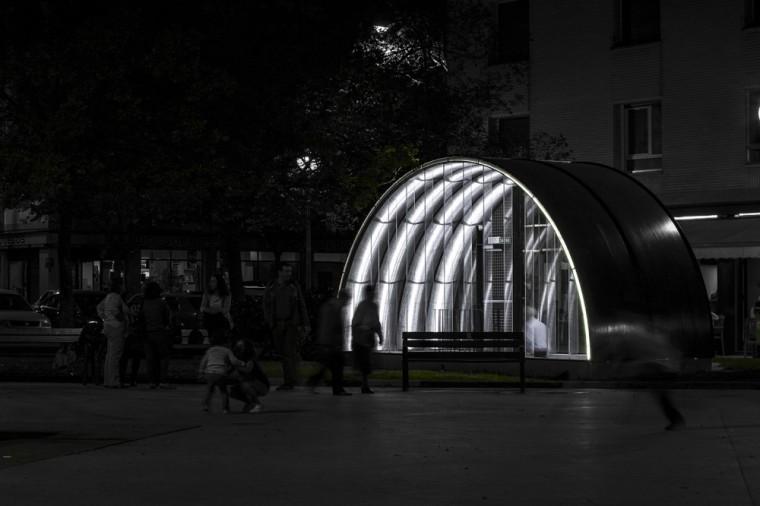 西班牙SanJuanBosco广场上的遮蓬_4