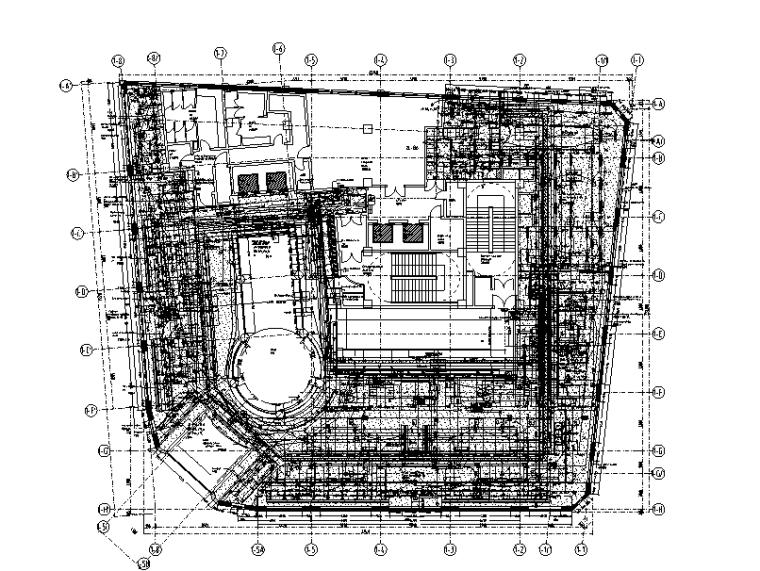 上海新百伦专卖店机电施工图(含计算书)
