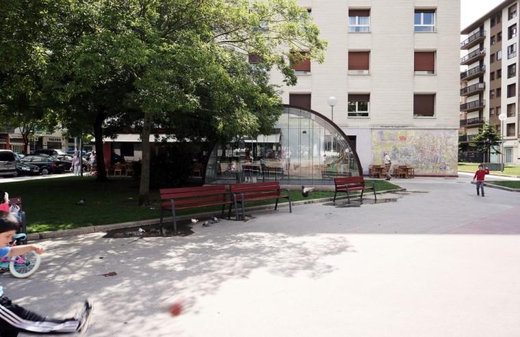西班牙SanJuanBosco广场上的遮蓬_5