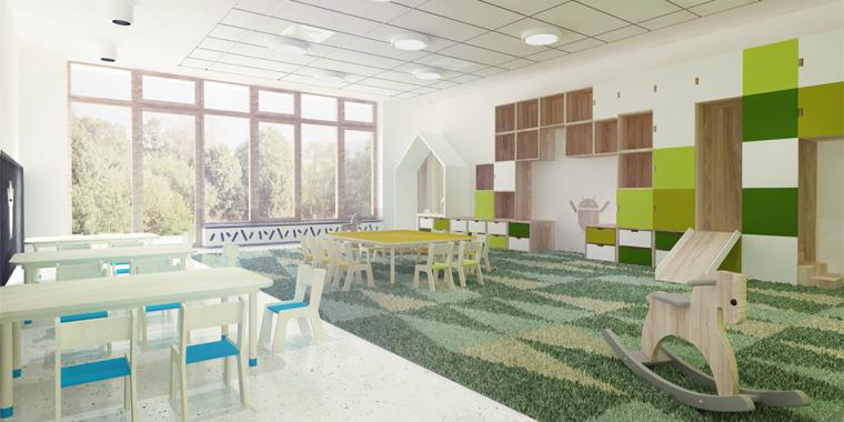幼儿园设计如何基于环境融入的幼儿园建筑设计