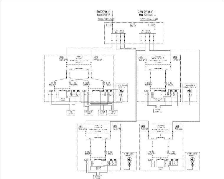 [浙江]医科大学校园工程电气施工图(图书馆、会堂、风雨操场、地下室)