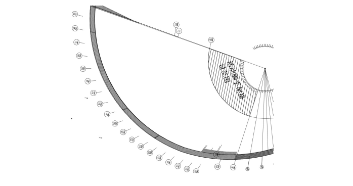 [保定]关汉卿大剧院和博物馆幕墙工程脚手架专项方案