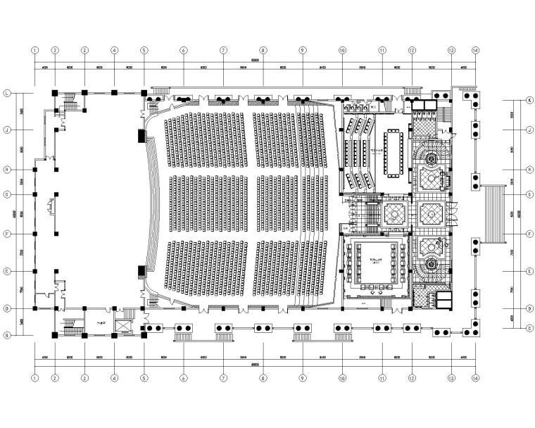 江阴三毛集团国际会议展览中心施工图